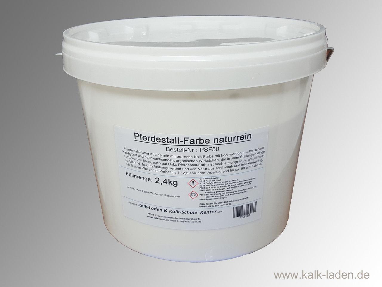 Häufig Pferdestall-Farbe, ohne jegliche Schadstoffe, 2,4 kg für etwa 50 MX03