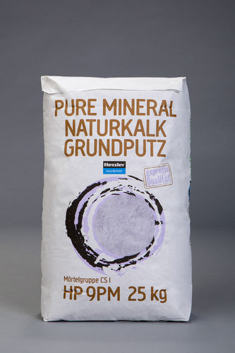 Kalknaturputz/Grundputz nach alter Tradition, 25-kg-Sack